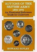 Buttons of the British Army 1855-1970 - frontpage