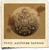 Civil uniforms buttons