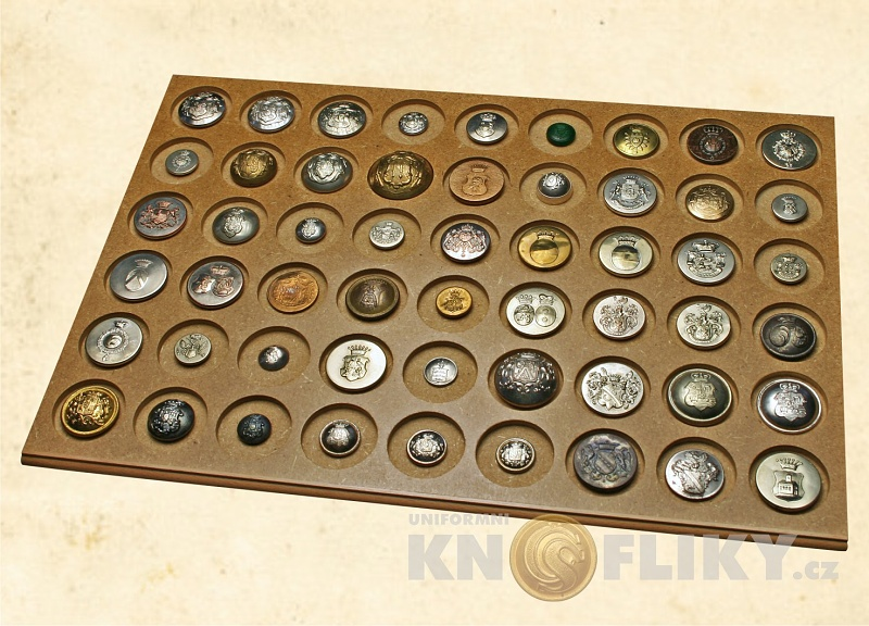 The collection of uniforms buttons today - Uniform buttons