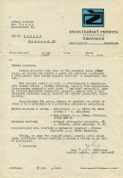 Correspondence with button producing company – 23rd of 1975
