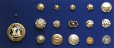 Uniform buttons – church and civil